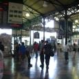 レティロ駅にて